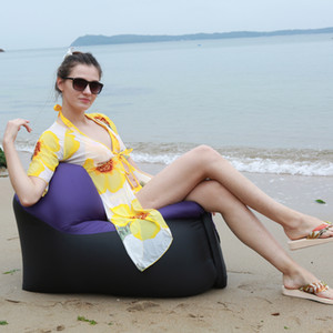 Venta-2020 caliente al aire libre rápido Infaltable Aire sofá-cama para picnic en la playa del parque principal de excursión que acampa del patio trasero del saco de dormir silla inflable