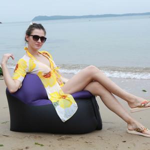 Vendita calda-2020 Outdoor veloce Infaltable Aria divano letto per Beach Picnic Parco Home Campeggio Trekking Backyard Sacco a pelo sedia gonfiabile