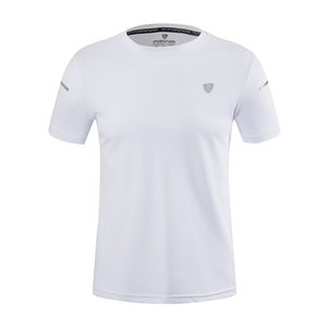 Hot New manches courtes T-shirt Hommes Casual séchage rapide T Hauts Fitness Vêtements de sport pour la course