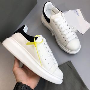Moda de Luxo Designer de Mulheres Sapatos Casuais Sapatos de Couro de Qualidade Superior Sapatilhas Reais Sapatilhas Sapatos de Veludo Cinza Esportes 36-46