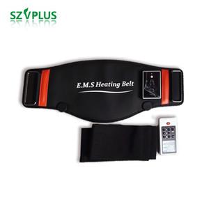 EMS microcurrents Isıtma geri bel masaj zayıflama kilo kaybetme ağırlık kemeri simülatörü kasları için eğitmen spor masaj makinesi