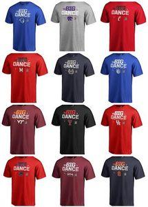 THE BIG DANCE College Basketball Abnutzung, Tops Fans T-Shirts Basketball-Trikots, Großhandel Trainer Online-Shopping speichert Trainingsrundhalsausschnitt Trikots