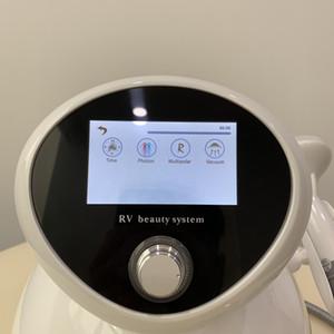 2019 최신 휴대용 진공 RF 광자 3 in 1 기계 눈 얼굴 및 몸 Slimminhg RV-3S