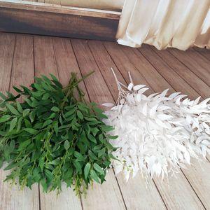 Yooap Yeni Simülasyon yaprak asma bitkisi söğüt yaprağı düğün yol kılavuz düzeneği simülasyon bitki tel bez demet söğüt örgü