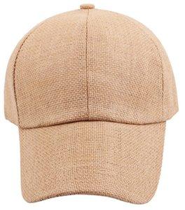Новый 10 шт. / Лот регулируемый лето Чистая солома бейсболка женщина навес соломенная шляпа на открытом воздухе спортивные шапки