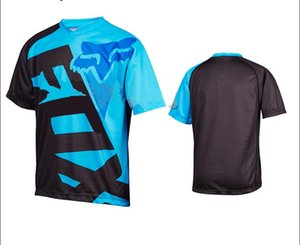 New outdoor TLD bike riding short-sleeved shirt men's summer mountain bike off-road motorcycle clothing polyester quick-drying same custom