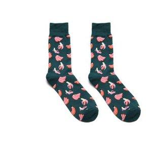 Artikel-Nr 252 Sport beiläufige Baumwolle Socken geeignet für Fußball und Basketball-Spiele Badminton Socken Nummer 748