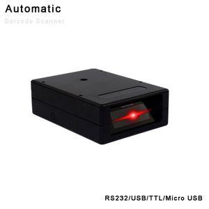 YHD-M100 USB RS232 Scanner automático de código de barras Micro USB TTL TTL Scanner 1D 2D QR Screen Code Reader Suporte ao Windows Mac Dos / VSE Linux