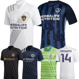 la ciudad de Nueva York de la MLS Parley LA Galaxy camiseta de fútbol 2020 de Toronto Miami de fútbol 20 21 GIOVANI MARTINEZ VELA camisetas Hombres fútbol
