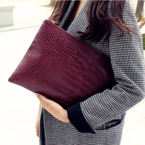 bolso de embrague de cocodrilo patrón monederos embrague mujer de la cena y bolsos bolsos de las mujeres del sobre del bolso de las mujeres