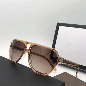 G1062 designer de marca de moda masculina óculos de sol pacote. Óculos de qualidade superior perna fibra de carbono protecção oval quadro UV lente estilo verão