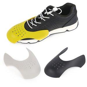1 Pair Toe Cap Support Shoe Stretcher Washable Practical Anti Crease Bending Crack Universal Sneaker Shield Shaper Expander