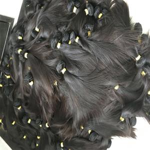 Capelli allineati allineati 100% Capelli umani non trattati Dritto da 8 a 30 32 34 36 38 40 pollici glamour Glamour Capelli indiani