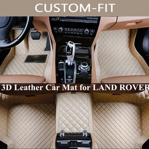 Custom Car Floor Mats for land rover lr2 lr3 range rover sport discovery freelander evoque All Model Carpet Alfombra Coche