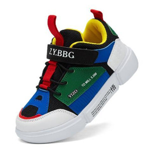 2018 new Online Sale Cheap New Kids basketball shoes for Boys Girls sneakers Children Babys running shoe Size