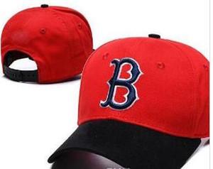 New Ajustável Red Sox cap unisex designer de luxo hiphop Snapback Chapéus de Verão Ao Ar Livre Dos Homens de Basquete Caps Sun Visor Barato Mulheres boné de beisebol