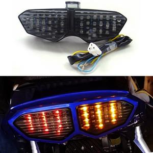 Areyourshop Motosiklet Entegre LED arka lambası Dönüş Sinyalleri Yamaha YZF R6 03-05 R6S 06-08 Motosiklet Aksesuarlar Parçaları İçin Fit