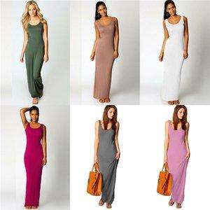 Designer en mousseline de soie Robe sexy taille haute Printemps Eté Plage Casual Robes Femmes Deep V-Neck # 673