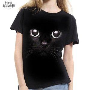 Fashion 2020 New Cool T Shirt Men Women 3D Tshirt Print Cat Short Sleeve Summer Tops Tees T Shirt Lovers Xs 2Xl