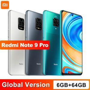 """Global Versión Xiaomi redmi Nota 9 Pro 6 GB 64GB Smartphone NFC Snapdragon 720G Octa Core Quad cámara 64MP 6,67"""" pantalla 5200mAh"""