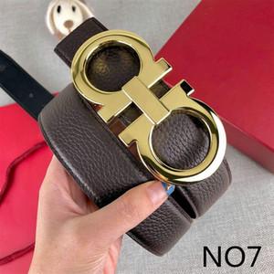 20ss Belts Moda Mens Belt Mulheres famosas cinto de fivela Cartas Casual F Suave fivela de cinto de moda 14 modelos Largura 38 milímetros de alta qualidade
