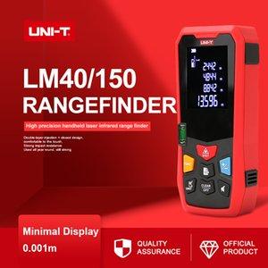 Laser Handheld UNI-T Rangefinder Distance Meter LM40 40M 50M 60M Medidor laser dispositivo a nastro di costruzione elettronici di misura Righello T200603