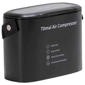 70 Mai Air Compressor Midrive TP01 Protable Mini Electric Car Air Pump Max Pressure 7bar - Black