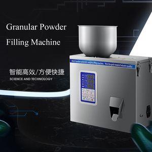 110V 220V Multi-função de máquina de enchimento para a pesagem automática de pó granulado chá do café comida de gato grão diversos máquina de embalagem