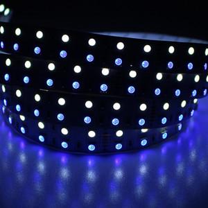 Strip Lamp doppia fila SMD 5050 RGBW colore che cambia la striscia flessibile LED DC 12V 5M 600leds nastro impermeabile RGBWW LED Ribbon LED
