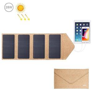 Carregador Painel Solar HAWEEL 28W dobrável com 5V 2.9A Max duplas Portas USB