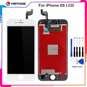 Touch screen di ricambio di buona qualità + Display LCD Digitizer + Dust Mesh + Frame Set completo Assembly per iPhone 6G 6S con trasporto veloce del DHL
