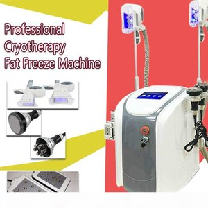 ultrasonic cavitation fat freezing Waist Slimming Cavitation Rf Machine Fat Reduction i lipo laser 2 cryo Heads