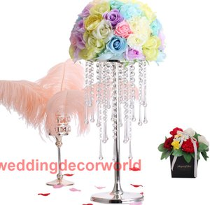 New style Tall Acrylic Wedding Centerpiece   Candle Holder, Road Lead, Flower Stand, Wedding Party Decoration decor00095