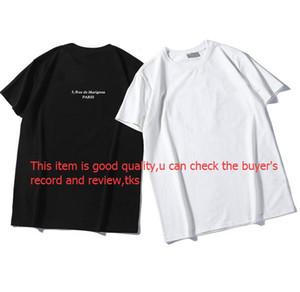 Yaz Erkek Tasarımcı Tişörtlü Casual Erkek Gevşek Marka Tees ile Mektupları Kısa Kollu Üst Lüks Erkek T Shirt Size S-2XL Sat yazdır