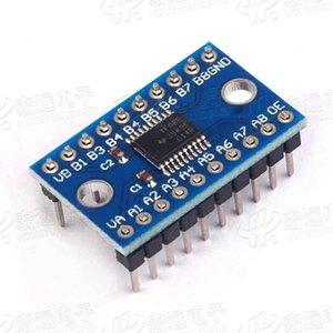 Full-duplex / 8 vías convertidor de voltaje de conversión de nivel de módulo / 8 bits bidireccional 5pcs TXS0108E de alta velocidad