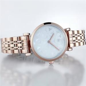 Hot Famous Top Brand Watch per donna Gioielli di lusso Abiti casual Bracciale in acciaio Studente Reloj AR Fashion Designer Orologio da tavolo di Natale