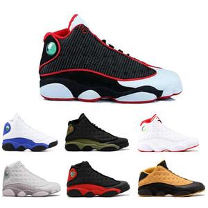 2019 Новый 13s мужская баскетбольная обувь разводили Чикаго пшеница XII Melo класс 2002 черный кот Высота коричневый CP3 home DMP 40-46