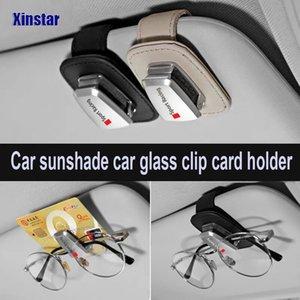 Autocollants voiture Véritable autocollant en cuir décoration pare-soleil pour voiture udi 1 3 4 5 A6 A7 A8 TT 3 5 Q7 Q8