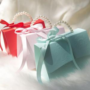 Большой для партии благосклонности конфеты Box Портативный Party Baby Shower Подарочные коробки свадьбы пользу коробка конфет Подарочные коробки 20pcs / lot XD23481
