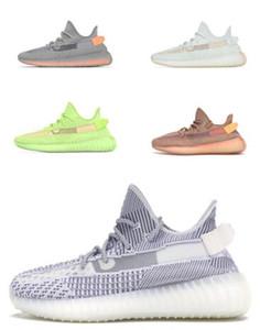 v2 statique d'un vaste choix de chaussures pour hommes, les nouvelles versions Kanye West Chaussures, Chaussures Hommes Femmes Hommes Femmes runnning, Chaussures de sport Mode