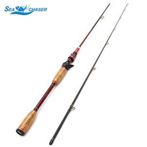 Alta Qualidade 2.1M Lure Rods Fundição Spinning Pesca Rod Poder M Lure 10-25g linha 8-16LB pode esticar cabo de madeira pólo