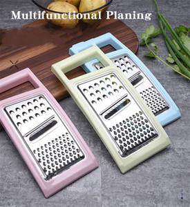 Vegetales multifuncional 3 en 1 rallador de verduras cortador multifuncional patata rallador de la fruta de la cocina de plástico vegetal Gadget