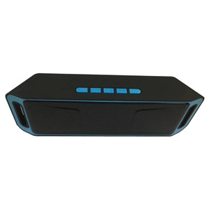 Altoparlanti Bluetooth senza fili di SC208 Altoparlanti mini musica portatile Bass Sound Subwoofer Altoparlanti per Iphone Smart phone e Tablet PC