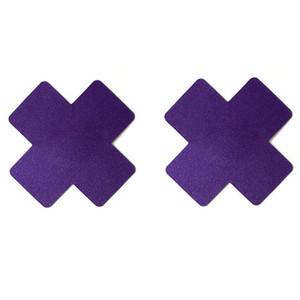 Sexy Cruz Cruz adesivos X Forma Descartável Pastéis Auto-adesivos Mamilo Capa Invisível Respirável Multicolor Escolha