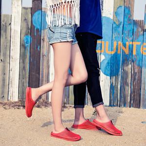 Été Couples Porous Chaussures confortables feuille poinçonnée surface BIRD NEST Sandales ultra-léger Eva Couples Pantoufles