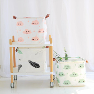 new Clothing Laundry Basket Bag Folding Laundry Basket Large Capacity Clothes Storage Bag Children Toy Storage Bucket Waterproof