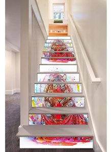 Originality Tiger Stairs Subsidies Refurbished Diy Sticker Can Move Corridor Steps Land Subsidies