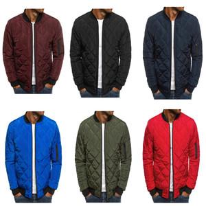Casual 5 Style Mens Warm Coats Streetwear Winter Jackets Lightweight Windproof Packable Jacket Baseball Coat Outwear for Men