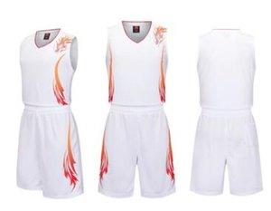 Benutzerdefinierte Jeder Name einer beliebigen Anzahl Männer Frauen Lady Jugend-Kind-Jungen-Basketball-Trikots Sport Shirts Wie die Abbildungen Sie B008 Angebot