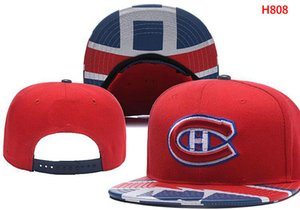 Neue Caps Canadiens Kappe Hockey Snapback Montreal Hüte Damen Herren Team Hüte Mix Match Order Alle Caps Top Qualität Hut
